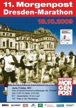 soforturkunde-dresden-marathon-2009