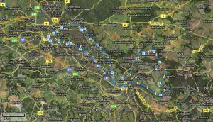 Radtour in die sächsische Schweiz